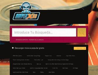 mp3xdmas.com screenshot