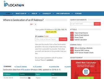 Thumbshot of Iplocation.net