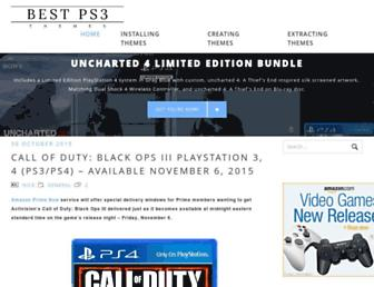 bestps3themes.com screenshot