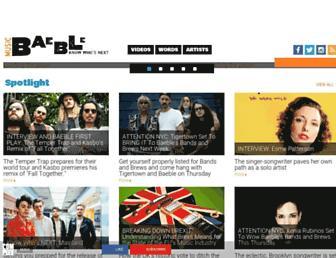 baeblemusic.com screenshot