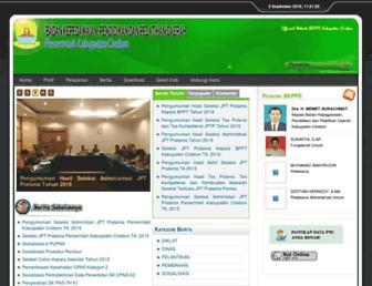 bkppd.cirebonkab.go.id screenshot