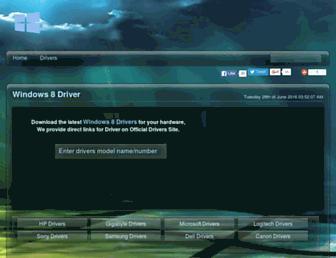 driverswindows8.com screenshot