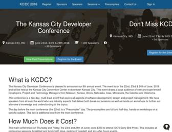 kcdc.info screenshot