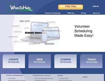 whentohelp.com screenshot