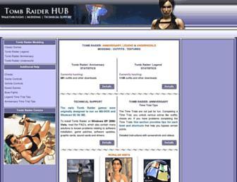 archive.tombraiderhub.com screenshot