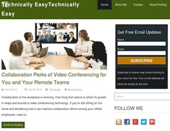 Thumbshot of Technicallyeasy.net