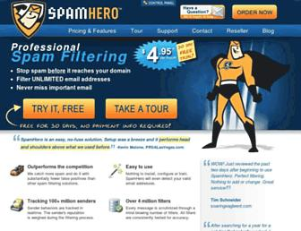 Thumbshot of Spamhero.com