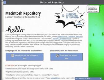 macintoshrepository.org screenshot
