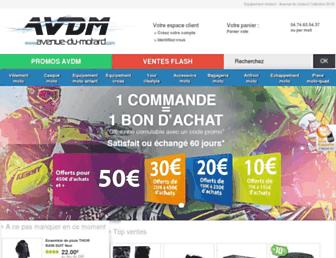 Thumbshot of Avenue-du-motard.com