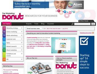 marketingdonut.co.uk screenshot