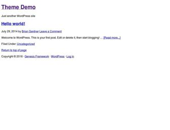 Thumbshot of Themedemo.me