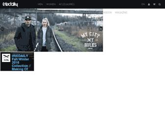 Main page screenshot of iriestore.de
