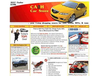 cashcarstore.com screenshot