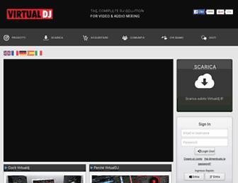 it.virtualdj.com screenshot