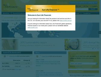 Thumbshot of Sunlife.com