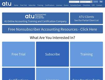 atunlimited.com screenshot
