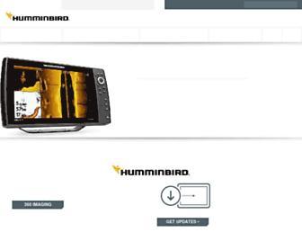 humminbird.com screenshot