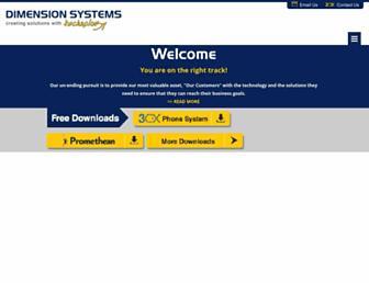 dimensionsystems.com screenshot