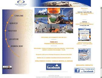 cnr-cme.ro screenshot
