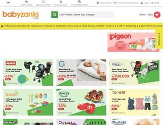 babyzania.com screenshot