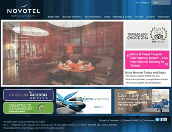 Thumbshot of Novoteltaipeiairport.com