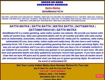 sattamataka143.in screenshot