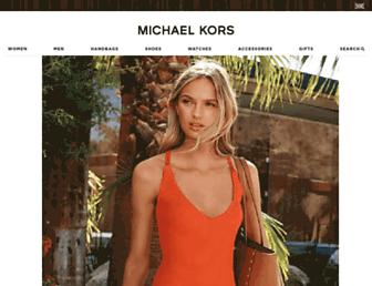 michaelkors.co.uk screenshot