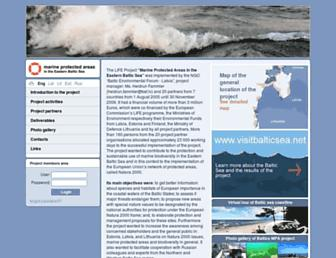 balticseaportal.net screenshot