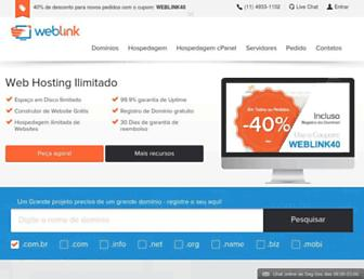 weblink.com.br screenshot