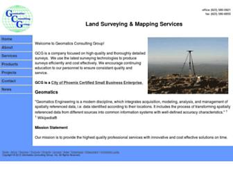 geomaticsconsultinggroup.com screenshot