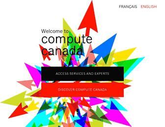 computecanada.ca screenshot