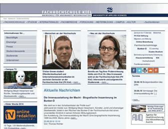 fh-kiel.de screenshot