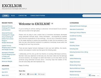 excelxor.com screenshot