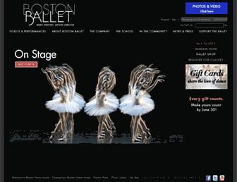 Thumbshot of Bostonballet.org