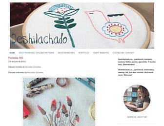 deshilachado.com screenshot
