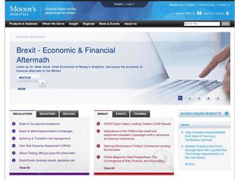 moodysanalytics.com screenshot