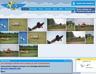 clubmars.org screenshot