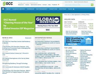 theocc.com screenshot