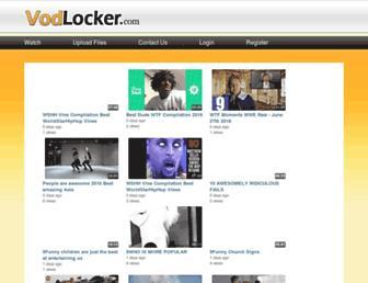 Thumbshot of Vodlocker.com