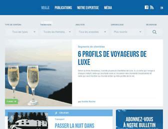 veilletourisme.ca screenshot