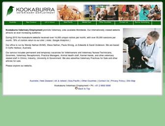kookaburravets.com screenshot