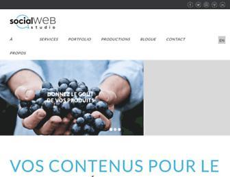 socialwebstudio.ca screenshot