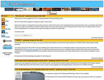 gtatools.com screenshot