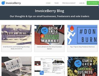 blog.invoiceberry.com screenshot