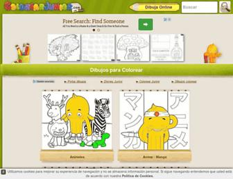 colorearjunior.com screenshot