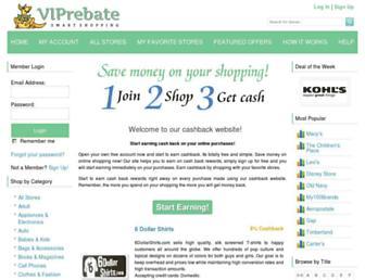 Thumbshot of Viprebate.com