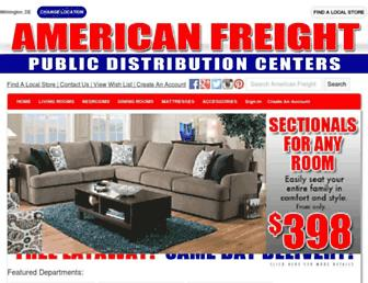 Thumbshot of Americanfreight.us