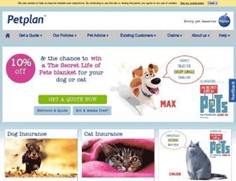 petplan.co.uk screenshot