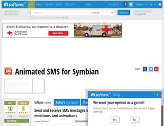 animated-sms.en.softonic.com screenshot