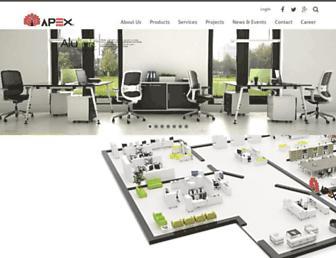 apexof.com.my screenshot